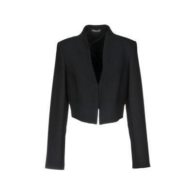 ツインセット シモーナ バルビエリ TWINSET テーラードジャケット ブラック 42 ポリエステル 53% / ウール 43% / ポリウレタン