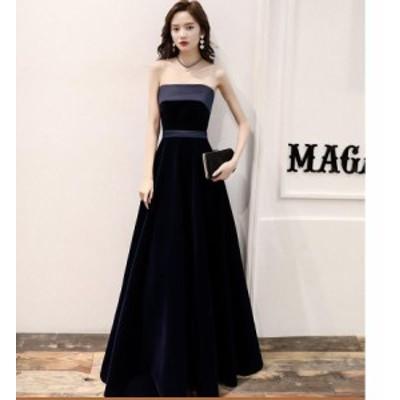 パーディードレス セクシー ウエディングドレス aラインワンピ キャバドレス ロングドレス 20代 30代 40代 大きいサイズ 顔合わせ 結婚式