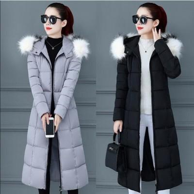 上着 カジュアル 防寒 防風 OL 通勤 暖かい アウター 学生 希少 通学 上質コート レディース ロング丈コート 中綿ジャケット