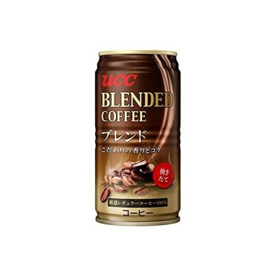 UCC ブレンドコーヒー 缶185g×30本