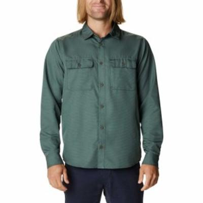 マウンテンハードウェア Mountain Hardwear メンズ トップス Mod Canyon Long Sleeve Shirt Black Spruce