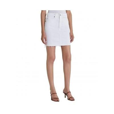 AG Adriano Goldschmied アドリアーノゴールドシュミット レディース 女性用 ファッション スカート Vera Skirt - Retro White