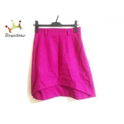 ジャスグリッティー JUSGLITTY スカート サイズ2 M レディース 美品 ピンク ニット       スペシャル特価 20200427