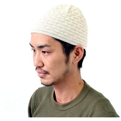 究極のプレミアム ブロック柄 コットン イスラム帽 イスラム帽子 帽子 キャップ ビーニー イスラムワッチ メンズ コットン 綿 黒沢帽 イスラムキャ