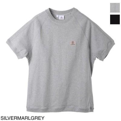 ピレネックス PYRENEX クルーネック Tシャツ PEAK メンズ peak-hmp009-0096-silvermarlgrey
