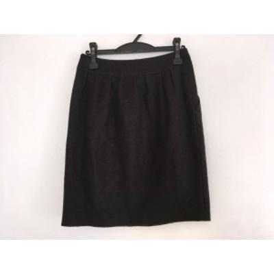 アドーア ADORE スカート サイズ38 M レディース ダークブラウン【中古】