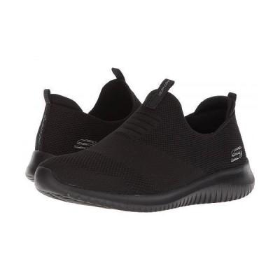 SKECHERS スケッチャーズ レディース 女性用 シューズ 靴 スニーカー 運動靴 Ultra Flex - First Take - Black