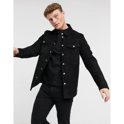 セレクテッドオム メンズ ジャケット・ブルゾン アウター Selected Homme milo suede jacket