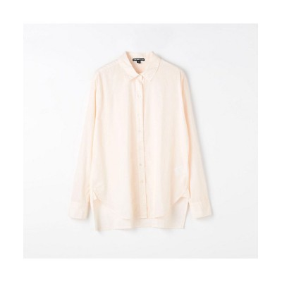 <JAMES PERSE(Women)/ジェームスパース> コットン オーバーサイズドシャツ WLC3523 32ピンクケイ【三越伊勢丹/公式】