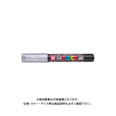 三菱鉛筆 ユニ ポスカ 極細 銀 PC-1M.26