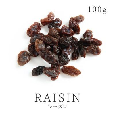 純粋 有機レーズン 100g 有機JAS認証 オーガニック ドライフルーツ 砂糖不使用 無加糖 無添加 ノンオイルコート 無漂白 保存食 非常食