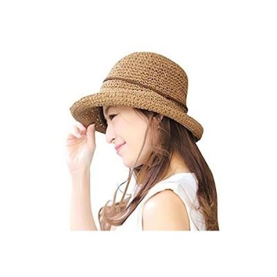 むぎわら帽子 レディース ハット 帽子 麦わら帽子 ペーパー ハット キャップ 夏 日焼け uvカット 14+ イチヨンプラス イチヨン 14プラス