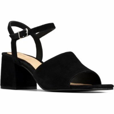 クラークス CLARKS レディース サンダル・ミュール シューズ・靴 Sheer Sandal Black Suede