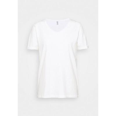ソヤコンセプト Tシャツ レディース トップス BABETTE  - Basic T-shirt - offwhite