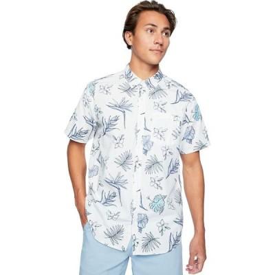 ハーレー メンズ シャツ トップス Kona Stretch Floral Short-Sleeve Shirt