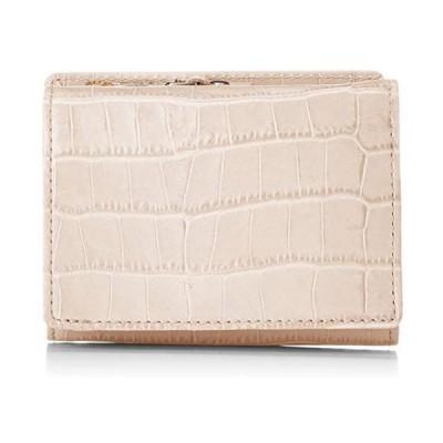[トプカピ] クロコ型押しレザー三つ折り財布 Cocco コッコ TOPKAPI