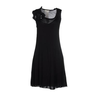 シェルヴィーノ ストリート SCERVINO STREET ミニワンピース&ドレス ブラック 46 100% レーヨン ミニワンピース&ドレス