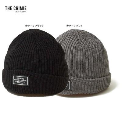 CRIMIE クライミー KNIT CAP ニット ビーニー キャップ 帽子 ニット帽 KNIT BEANIE CR1-02L5-HW08 西海岸 アメカジ STREET おしゃれ モテる かっこいい カジュア