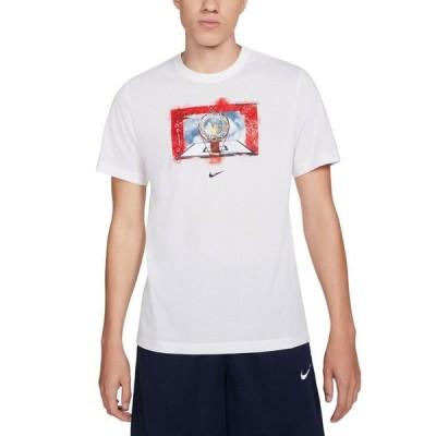 ナイキ メンズ Tシャツ トップス Men's Dri-FIT Hoops Photo Graphic T-Shirt