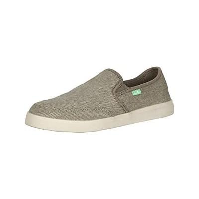 Sanuk mens Vagabond Slip-on Sneaker, Brindle, 11 Wide US