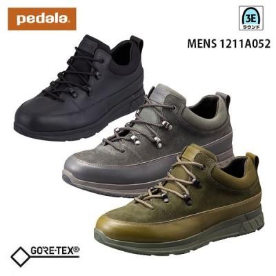 アシックス ペダラ メンズ スニーカー 3E 1211A052 ゴアテックス アウトドアスタイル 防水 asics pedala 靴
