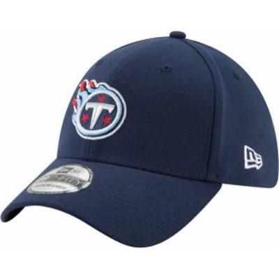 ニューエラ メンズ 帽子 アクセサリー New Era Men's Tennessee Titans Navy 39Thirty Classic Fitted Hat