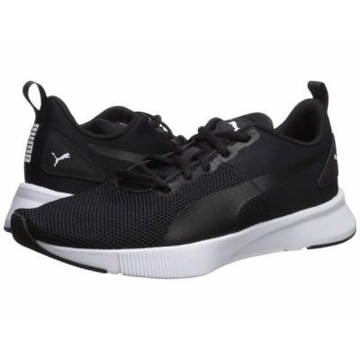 プーマ スニーカー シューズ メンズ Flyer Runner Puma Black/Puma Black/Puma White