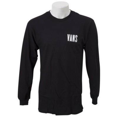 VANSウェア TYPE STACKER LS ヴァンズ ロングスリーブTシャツ VN0A3HXKBLK BLACK