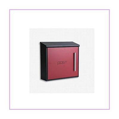 Czlsd アウトドア防水メールボックスクラシックメタルポストボックス メールボックス レターボックス