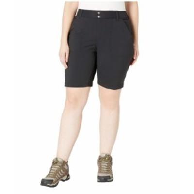 コロンビア レディース ハーフパンツ・ショーツ ボトムス Plus Size Saturday Trail¢ Long Short Black