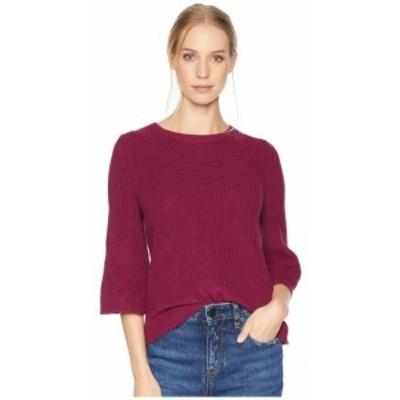 Michael Stars マイケルスターズ 服 スウェット Cotton Knits 3/4 Sleeve Swing Sweater