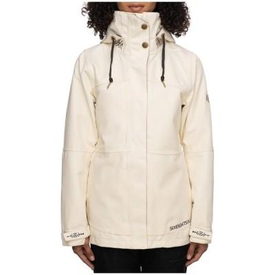 シックスエイトシックス レディース ジャケット&ブルゾン アウター 686 SMARTY 3-in-1 Spellbound Jacket - Women's Birch Diamond Texture