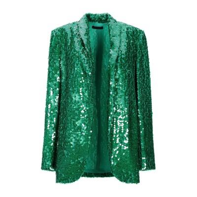 EMMA BRENDON テーラードジャケット グリーン 40 ポリエステル 95% / ポリウレタン 5% テーラードジャケット