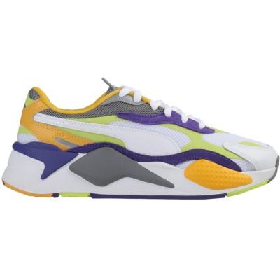 プーマ PUMA スニーカー&テニスシューズ(ローカット) ホワイト 4 革 / 紡績繊維 スニーカー&テニスシューズ(ローカット)