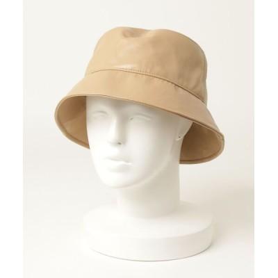 SHIPS for women / フェイクレザーバケツハット WOMEN 帽子 > ハット