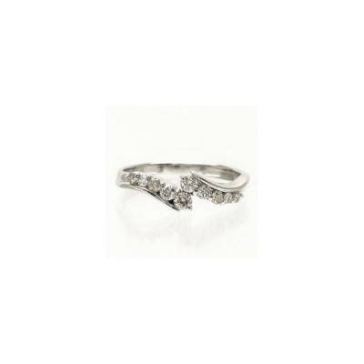 ダイヤモンド リング k18ゴールド ダイヤ 0.3ct 指輪 テンダイヤモンド 18金 レディース ジュエリー アクセサリー