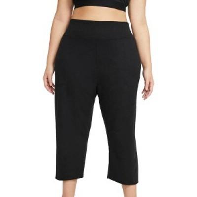 ナイキ レディース カジュアルパンツ ボトムス Nike Women's Yoga Off Mat Fleece Crop Pants Black