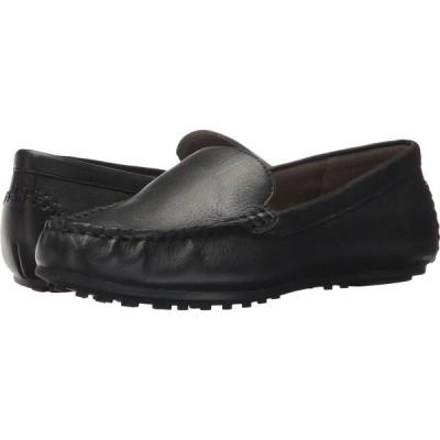 エアロソールズ Aerosoles レディース ローファー・オックスフォード シューズ・靴 Over Drive Black Leather