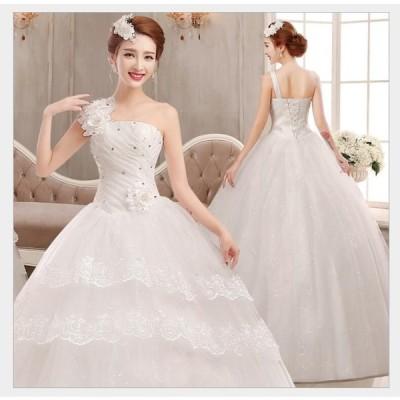 ウエディングドレス ロングドレス パーティードレス ステージ衣装 二次会 演奏会 発表会 成人式 結婚式ドレス 披露宴 謝恩会 大きいサイズ ナイトドレス