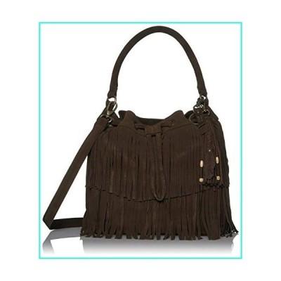 【新品】Frye and Co Handbags Phoebe Bucket Bag, Dark Brown(並行輸入品)