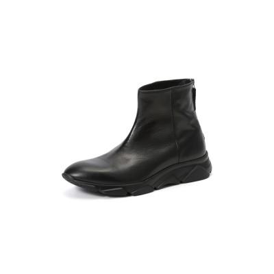 バックジップ ブーツ ブラック 39