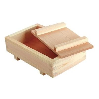 寿司 型 押寿司器 (特大) ひのき 日本製 ( 押し寿司 寿司器 寿司型 押し寿司器 木製 木型 型枠 すし 箱寿司 はこ寿司 箱寿司器 はこ寿司