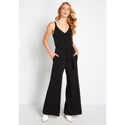 モドクロス ModCloth レディース オールインワン ジャンプスーツ ワンピース・ドレス elegant everywhere jumpsuit black