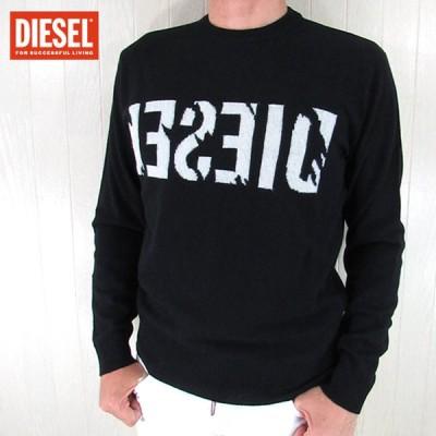 ディーゼル DIESEL メンズ ニット セーター 長袖ニット K-JOY/900/ ブラック 黒 サイズ:M/L/XL