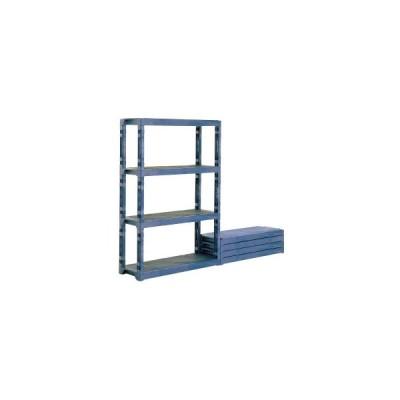 サンコー プラスチック棚 L (ポリプロピレン) 1200×450×H1796mm