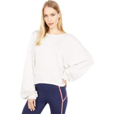 フリーピープル FP Movement レディース スウェット・トレーナー トップス Good To Go Sweatshirt White Heather