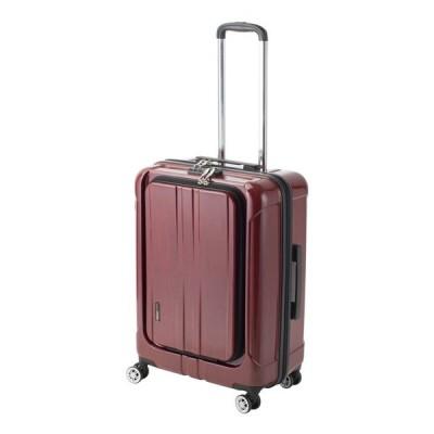 スーツケース Mサイズ 機内持込可 フロントオープン ポライト