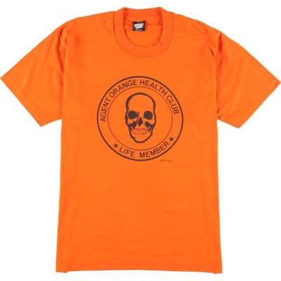 80年代 スクリーンスターズ SCREEN STARS プリントTシャツ USA製 メンズM ヴィンテージ /eaa158725
