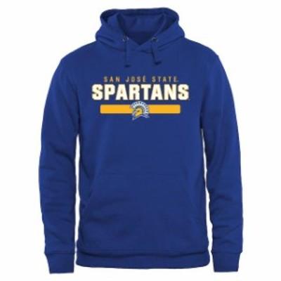Fanatics Branded ファナティクス ブランド スポーツ用品  San Jose State Spartans Royal Blue Team Strong Pullover Hoodie