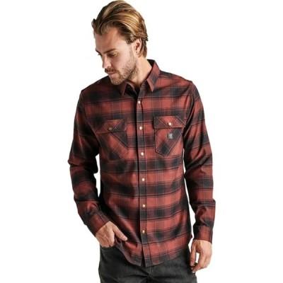 ロアークリバイバル Roark Revival メンズ シャツ フランネルシャツ トップス Alpinist Flannel Shirt Maroon